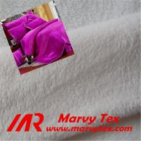 super soft micro velboa fabric for blanket Manufactures
