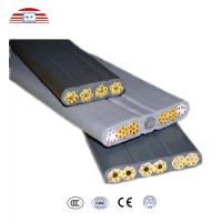 Buy cheap Electrical Wires Flexible Flat Cable for Elevator , power transmission cables from wholesalers