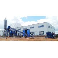 Industrial Concrete Batch Mix Plant 1200KG High Power For Stirring Mill Manufactures