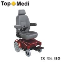 Compact height-adjusted Electric Mobility Wheelchair for indoor and outdoor use Manufactures
