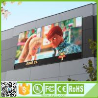 Outdoor RGB LED Screen High Brightness Led Advertising Pitch 6mm Display Manufactures