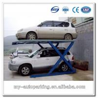 China Scissors Car Parking Lift for 2 Vehicles Mechanical Car Parking System on sale