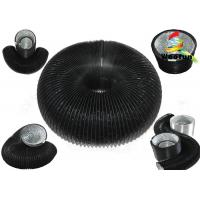 Aluminum Uninsulated Flexible Duct 12 Inch Round PVC Expandable Garden Hose Manufactures