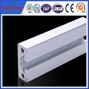 Aluminium extrusion for industrial t slot aluminium profile Manufactures