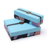 China Cardboard Candy Gift Printed Paper Box With Lid Base Blister Display Custom Logo on sale