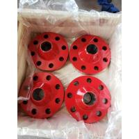 China AISI4130 Wellhead Adapter Flange / 5000psi BX Weld Neck Flange  13 5/8 Size on sale