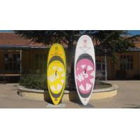 Big Width Inflatable Paddle Board For Kids , 8 Feet Long 4 Inch Thickness SUP Paddle Boards Manufactures