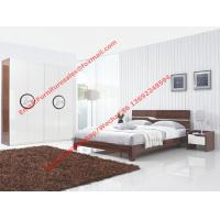Quality New Design Melamine Material Modern bedroom Custom wardrobe in fashion handle with Open door for sale