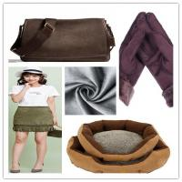 Cold - Proof Suede Cloth Fabric 57/58'' Insect Resistance Corrosion Prevention Manufactures