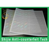 FL / NJ / CT / OH / IL / MD / RI / PA. / NC / SC / KY / AZ / TX / CA(old) / GA / PR / IN / VA hologram overlay in stock Manufactures