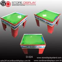 push toys corrugated cardboard display table box Manufactures