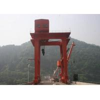 Wire Rope Electric Hoist Overhead Gantry Crane Customized Lifting Height for sale