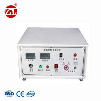 GB 12011-2009 Leather Testing Machine / Safety Shoes Sole Electric Resistance Testing Instrument Manufactures