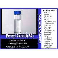 Pharma Grade Muscle Gain Steroids Solvent Benzyl Alcohol (BA) For Steroid Liquid Homebraw Manufactures