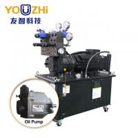 3.7KW pump 5HP Energy saving hydraulic power units with plunger pump for CNC center Manufactures