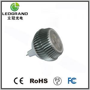 E27, GU10 Luminous Flux 3 LED spot lamps LG-DB-1003F (3000k - 6500K) Manufactures