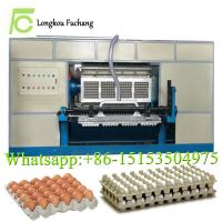 China 3000 pieces waste paper forming egg tray machinery/paper egg dishes making machines-whatsapp:0086-15153504975 on sale