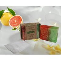 China 80g natural  grapefruit soap for antibacterial on sale