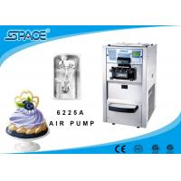 Air Pump Feeding Commercial Soft Serve Ice Cream Maker Table Top Model Manufactures