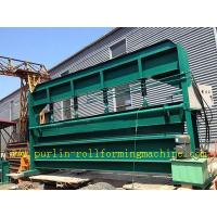AC Motor Galvanized Sheet Hydraulic Bending Machine , Metal Rolling Equipment Manufactures