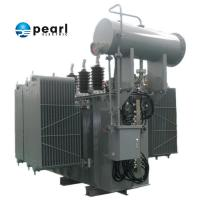 High Strength And Capacity Step Up Power Transformer 110kV - 8000 KVA Low Loss Manufactures