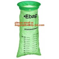 100% Biodegradable Disposable Healthcare Emesis Bag,Medical Emesis Bag with a Rigid Plastic Ring,Biodegradable Emesis Ba Manufactures