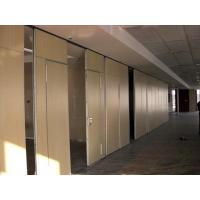 China Sliding Folding Office Sound Proof Wall Partition Commercial Interior Door Aluminium Trolley on sale