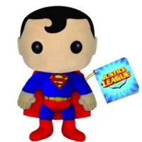 Fashion Small Justice League Plush Toys Action Figure in Red and Blue Manufactures