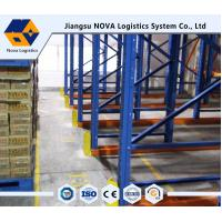 Buy cheap Professional Drive Through Pallet Racking Heavy Duty With Ce Iso Guarantee from wholesalers