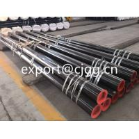 China Round Din1629 Hot Finished Seamless Tube , ST52 / Q345 Thin Wall Steel Tubing wholesale