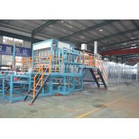 Waste Paper Moulding Pulp Egg Tray Making Machine / Fruit Tray Machine Manufactures