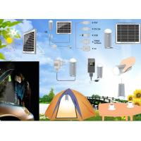 solar lighting with 3W LED bulbs high lumens Manufactures
