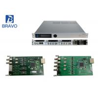 MPEG - 2 Real Time Head End Processor , SD / HD Bravo Digital Cable Modulator Manufactures