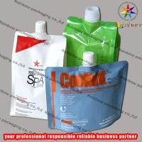 Mylar Plastic Spout Pouch Packaging for sale