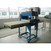 Double Location Flatbed Textile Heat Transfer Printing Machine Large Size CE Manufactures