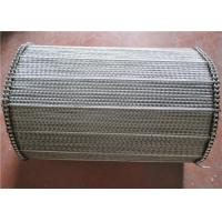Spiral Wire Mersh Stainless Steel Conveyor Belt For Drying Ovens Manufactures