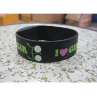 Color Printing Black Silicone Wristband Digital Watches with Precise Quartz Movement Manufactures