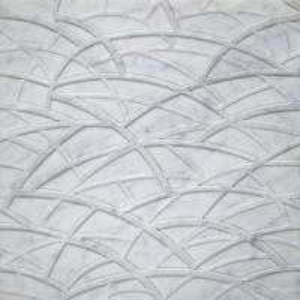 Canopy Bianco Carrara 3D Artistic Wallart Tile Manufactures