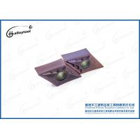 High Hardness Tungsten Carbide Milling Inserts With Dark Brown Coating Manufactures