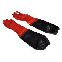 NEW DESIGN PVC gloves with long sleeve cuff  chemical industrail Manufactures