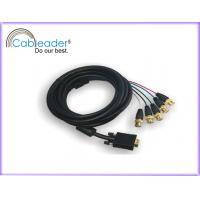 China High Speed 15-PIN VGA to TV Cable (VGA-5BNC) with five BNC cables on sale