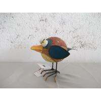China Cute and lovely bird girl Garden Animal Statues lawn statue with handpainting on sale