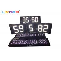 White Color Polo Sport LED Electronic Scoreboard With Team Name Manufactures