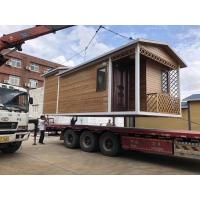 High Strength 3 Bedroom Prefab House , Easy To Install Modern Steel Frame Homes Manufactures