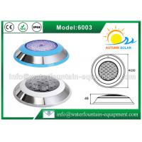 Stainless Steel 304 Underwater Pool Lights RGB 18W Energy Saving Color Changing Manufactures
