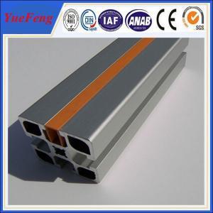 anodized aluminum industrial extrusion supplier, extrusion industrial aluminum profile Manufactures