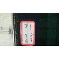 One Sided Green Tartan Fabric20% Wool , Scottish Plaid FabricWith Horizontal / Vertical Line Manufactures