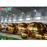 China Park Advertising 3.5m Inflatable Mirror Ball on sale