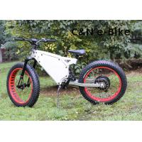 Fat Tire Electric Beach Cruiser Mountain Bike With Electric Motor For Womens Manufactures