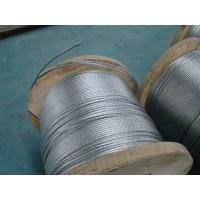 Right Hand Lay Direction Galvanized Stay Wire With Overall Diameter 9.8 Mm Manufactures